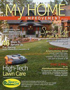 Husqvarna Automower® on front yard lawn