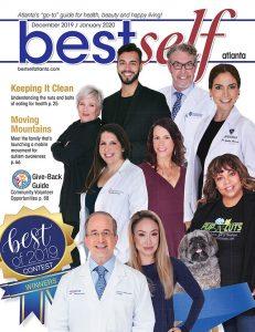 Nine 2019 Best Of Winners featured on Best Self Atlanta magazine's cover