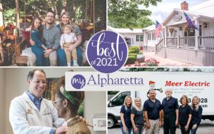 DIfferent winning Alpharetta businesses