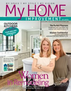 My Home Improvement magazine cover March - April 2018