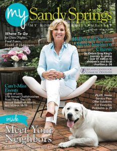 My Sandy Springs January-February 2020 cover features Dr Debra Gray King