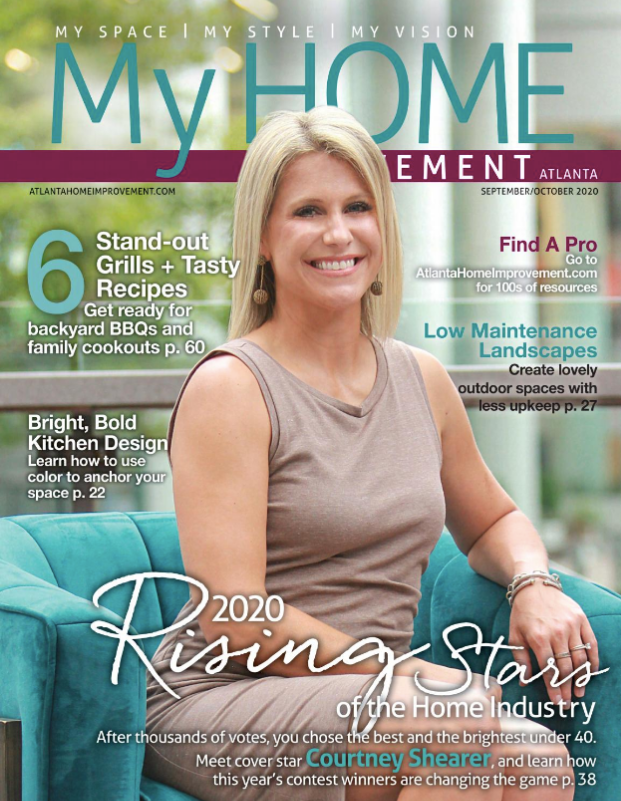 My Home Improvement Digital issue 2020 Rising Star Cover Winner