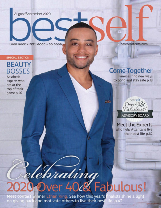 Ethan King on the cover of Best Self Atlanta August 2020
