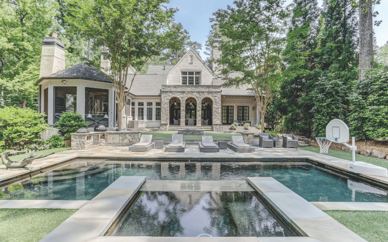 A recent listing by Neumann & Co. in beautiful Chastain Park.