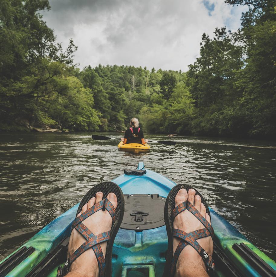 Kayaking in North Georgia