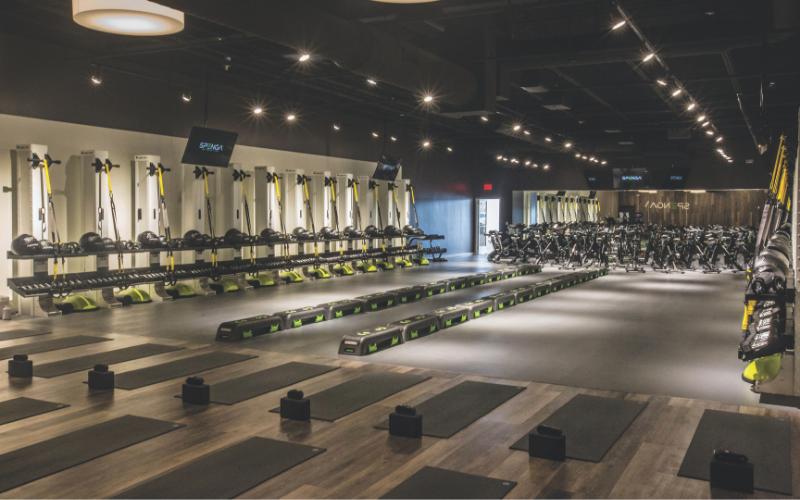 a gym