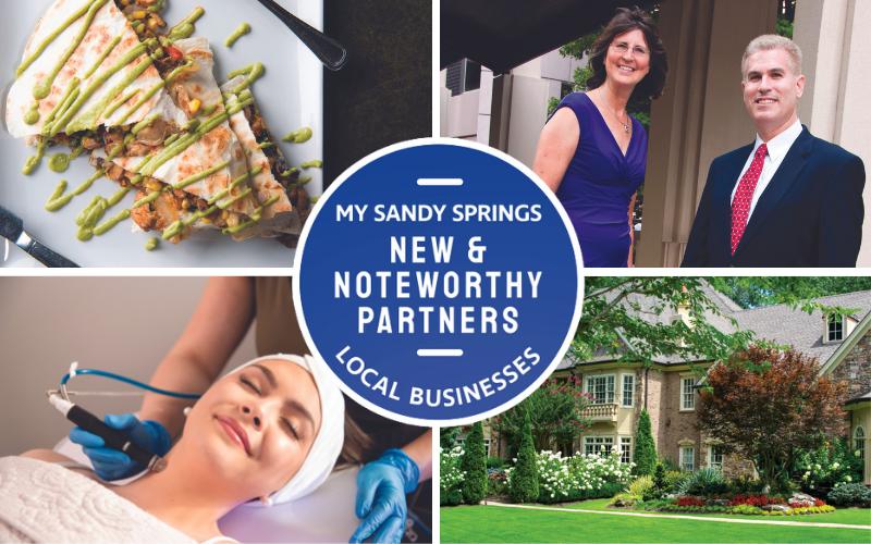 My Sandy Springs New & Noteworthy